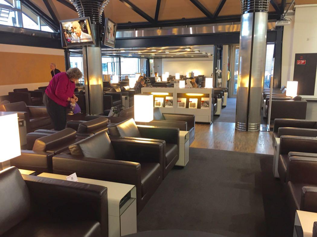 Swiss Star Alliance Senator Lounge, Zurich Airport
