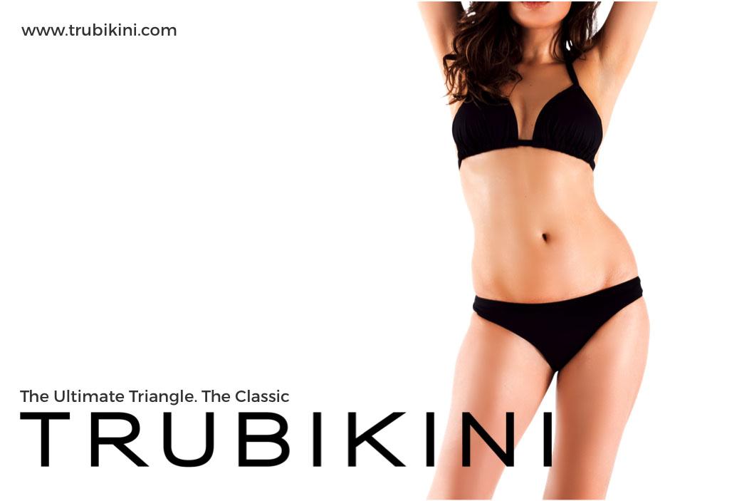 Trubikini The Ultimate Black Bikini