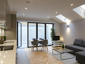 2 nights for 6 At A 2-bed Apt Nr Earls Court London