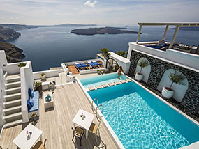 3 Nights At Iconic Santorini, A Boutique Cave Hotel In Greece