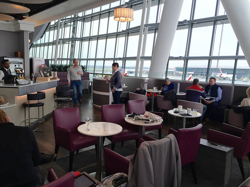 Priority Pass, meanwhile, is trying to help keep people moving in the lounge, offering food and booze credits of around $28 per person. There is a catch, though: People have to leave the lounge to.