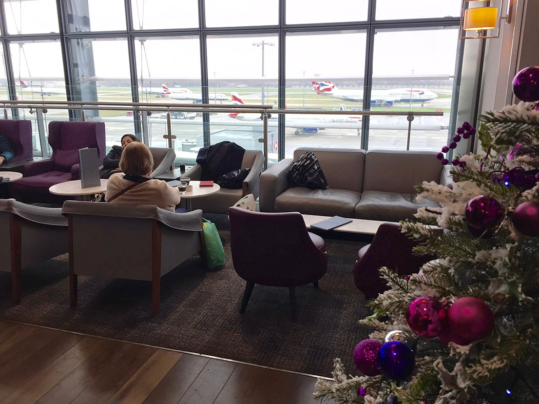 Aspire Priority Pass Lounge at LHR T5 Review