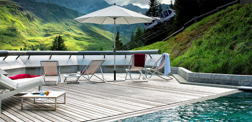 Tschuggen Bergoase Spa – One Of The Best Spas In The Swiss Alps