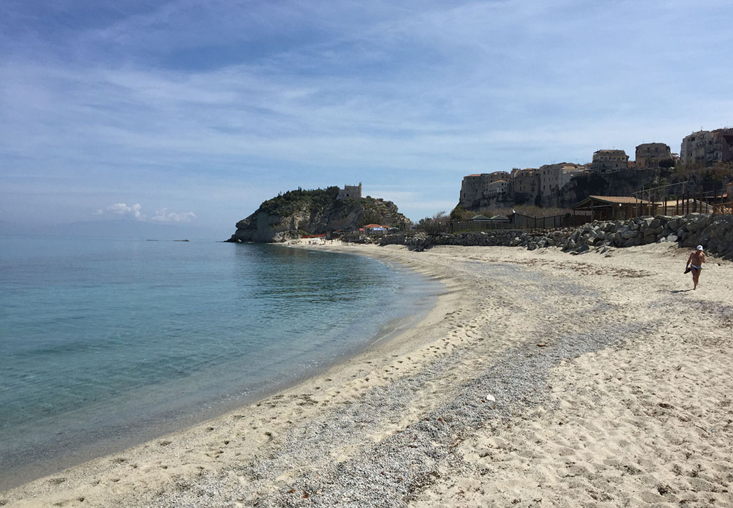 The Undiscovered Coastline Of Calabria In Italy