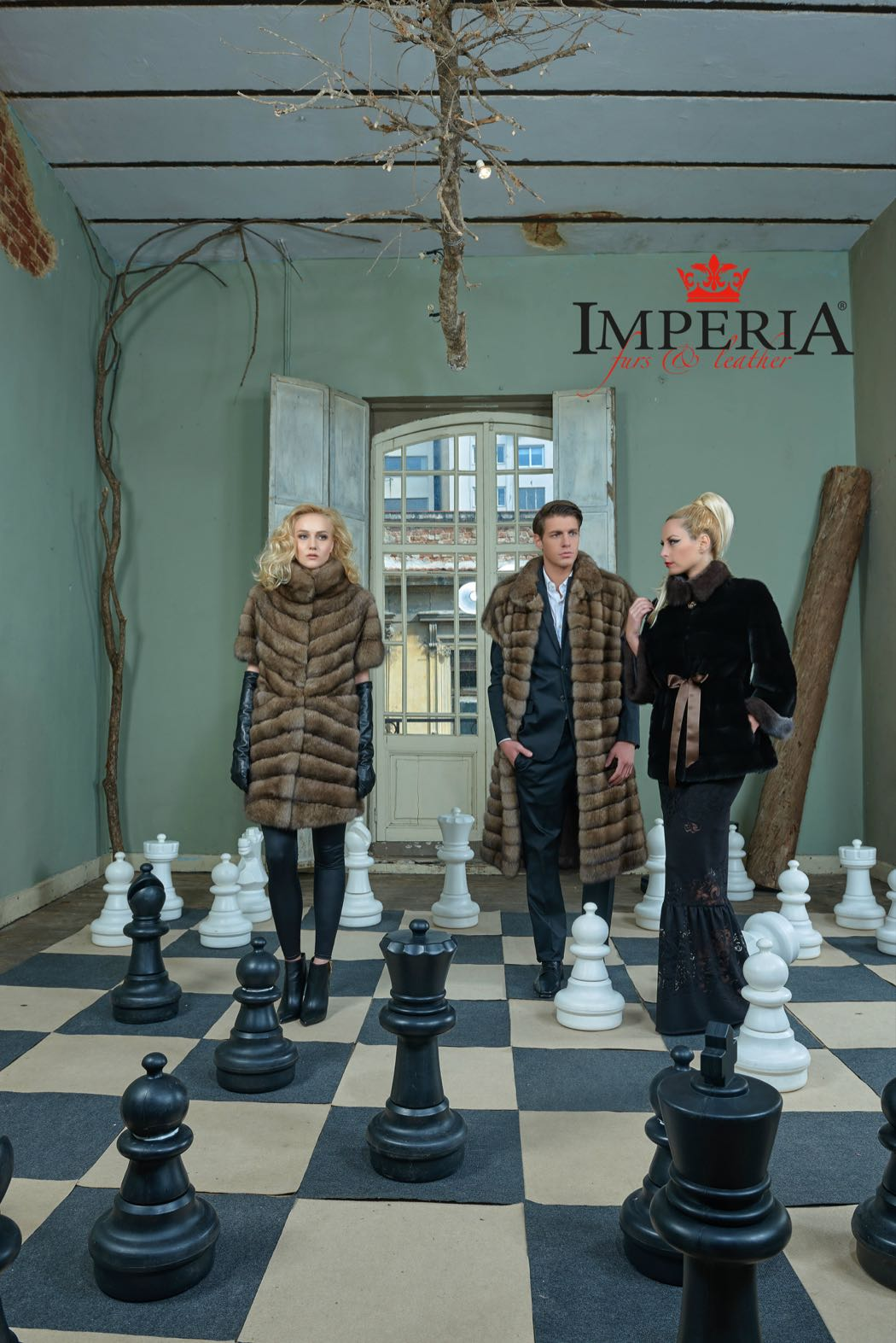 Keep The Cold Out With Imperia Furs & Leather