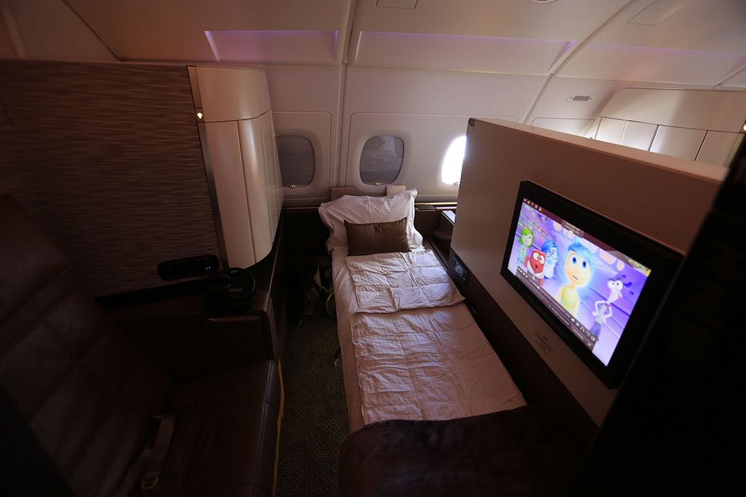 Picture Review Of Etihad A380 First Apartments