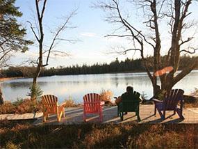 2 nights at Trout Point Lodge, Nova Scotia, Canada