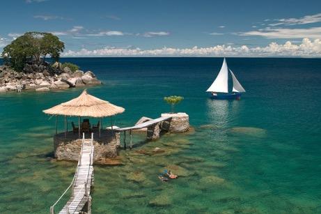 2 nights at Kaya Mawa Luxury Resort on Lake Malawi, Malawi