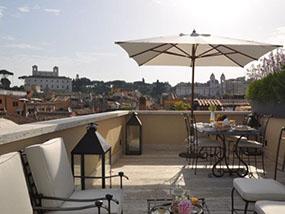 One night at La Scelta di Goethe Luxury Suites in Rome