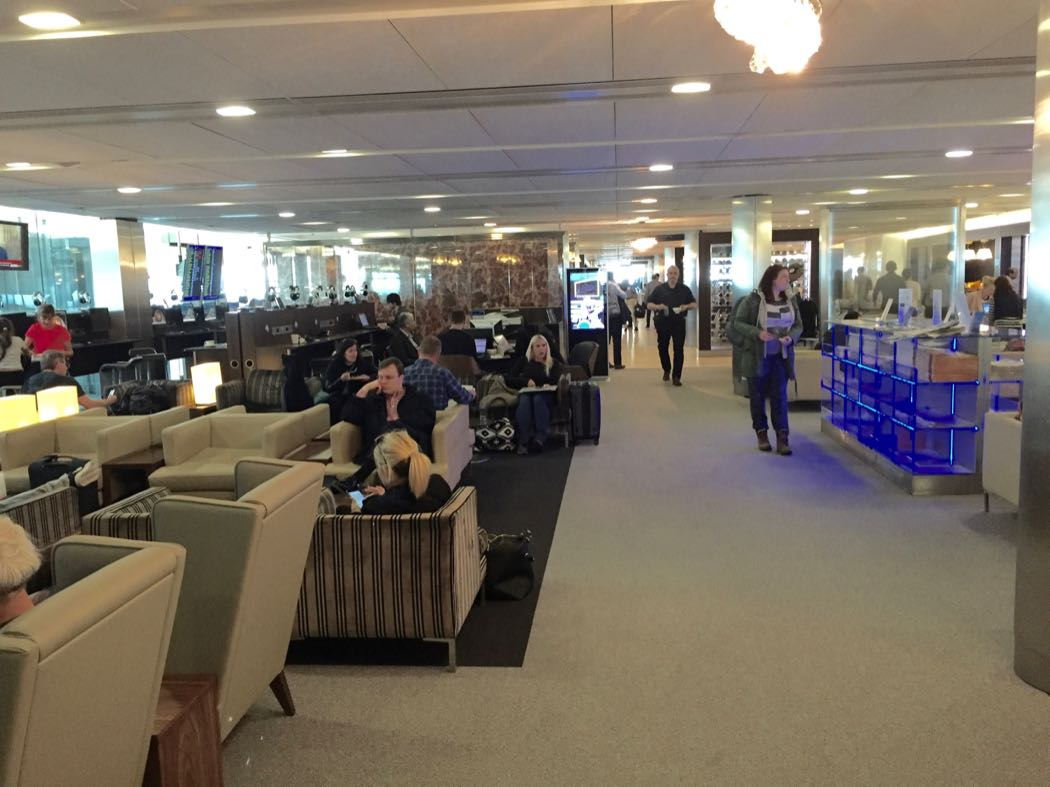 British Airways Galleries Club South Lounge In Heathrow Terminal 5