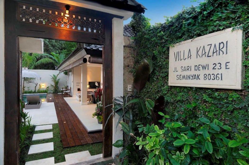 A Luxury Retreat In Seminyak – Villa Kazari Zen