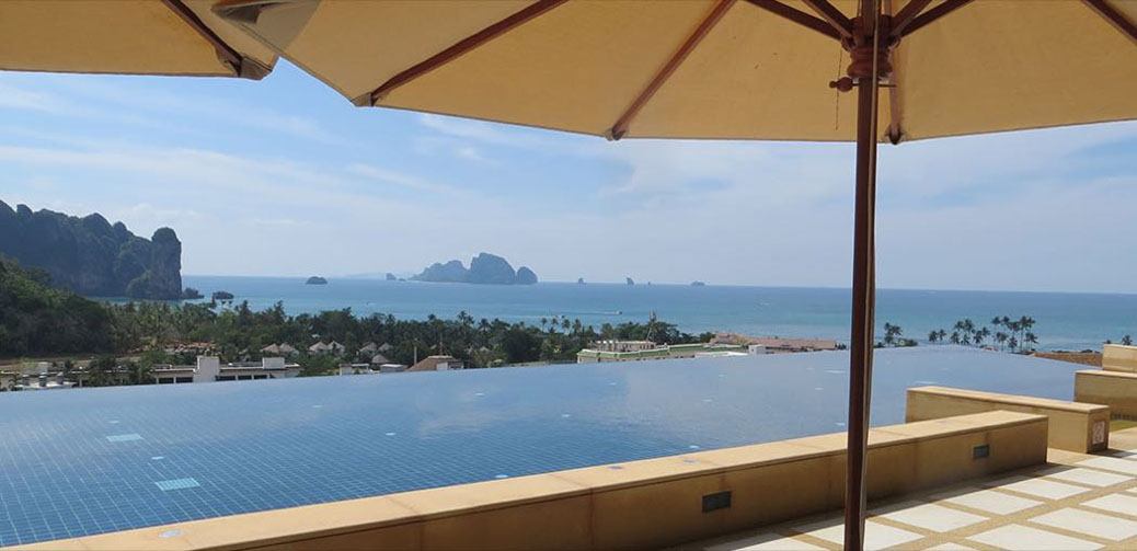 review of aonang cliff beach resort spa krabi thailand. Black Bedroom Furniture Sets. Home Design Ideas