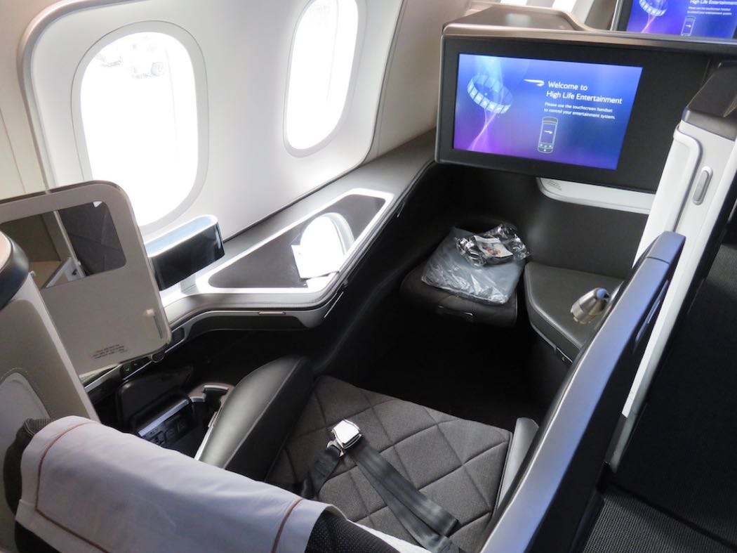 Review Of First Class On The British Airways Dreamliner B787-9