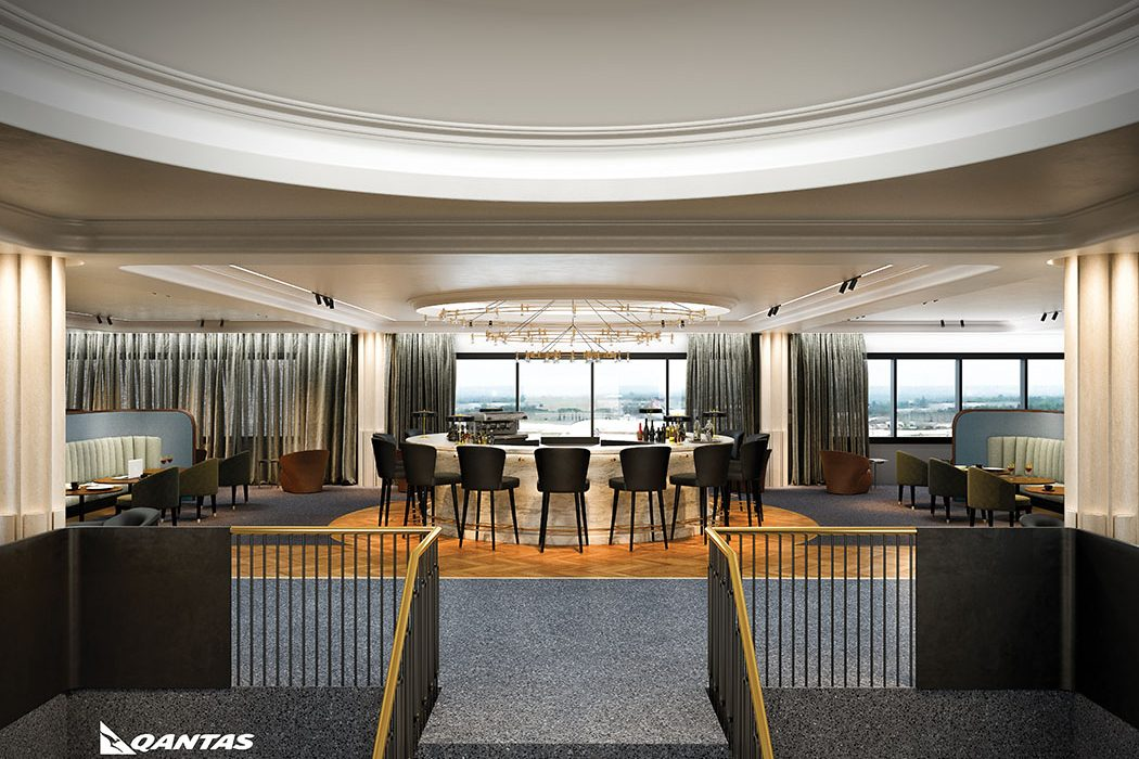 Review Of Quantas Airport Lounge At Heathrow Terminal 3