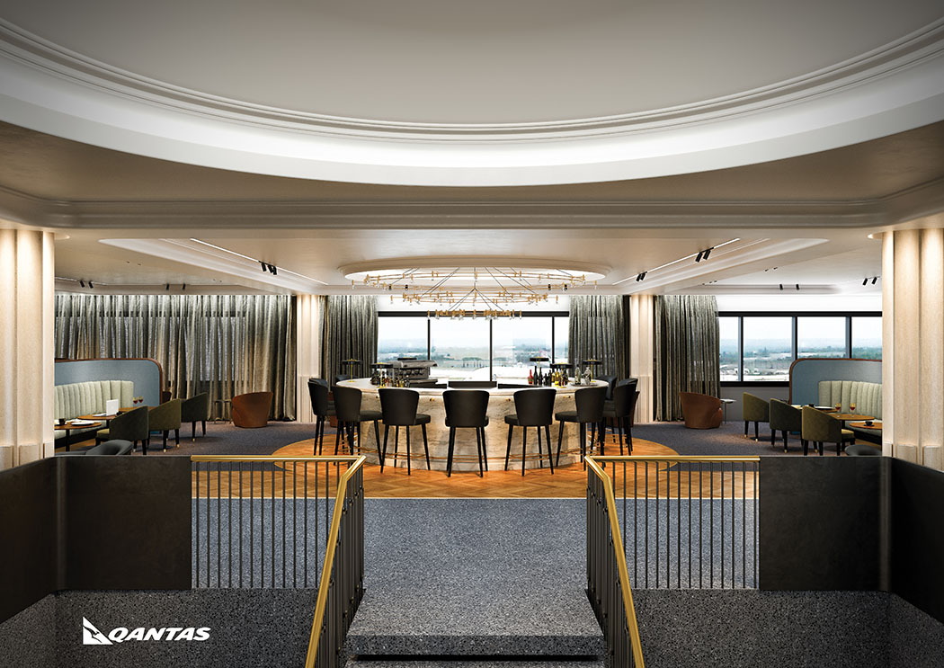 Review Of Qantas Airport Lounge At Heathrow Terminal 3