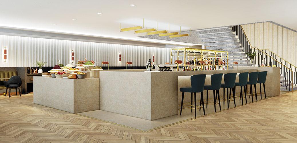 Review Of Qantas Airport Lounge At Heathrow Terminal 3