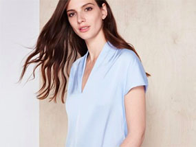 Your choice of Winser London V Neck Silk Top £130