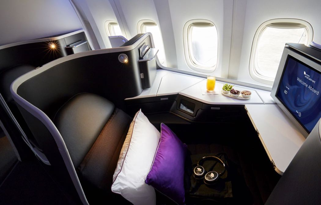 Best Business Class Seats On Virgin Australia B777-300ER