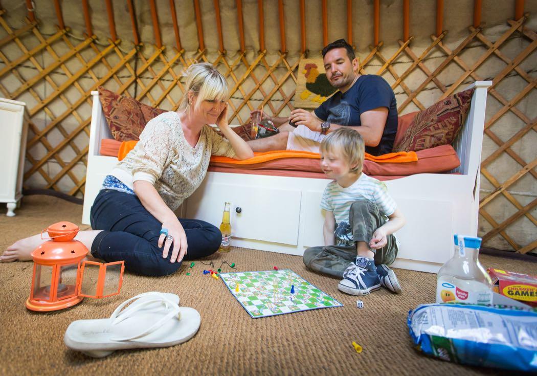 Cwm Tawel Luxury Yurts In South Wales
