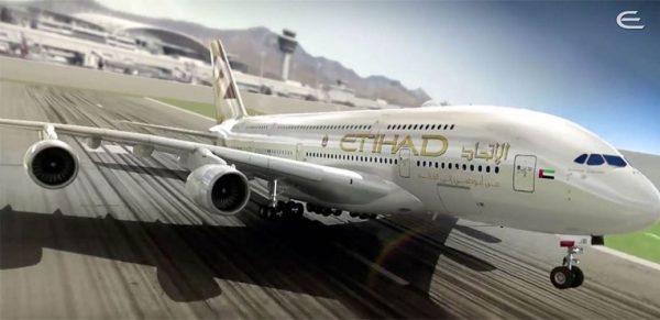 Etihad A380 Business Class Review London to Abu Dhabi