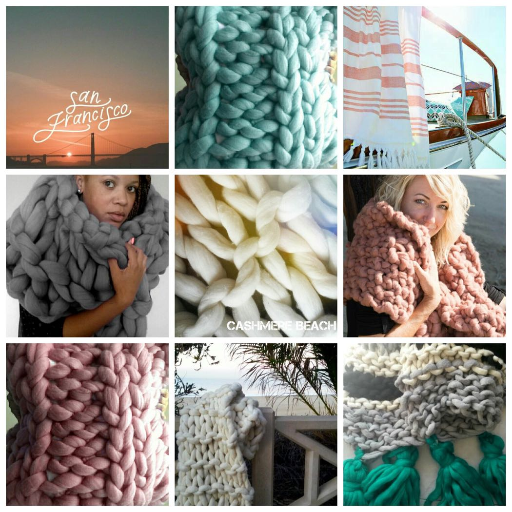 Luxury Cashmere Beach Knits