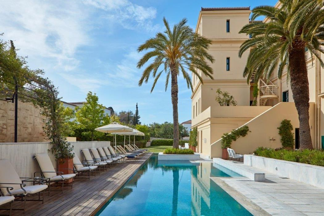 Review Of The Poseidonion Grand Hotel On Spetses