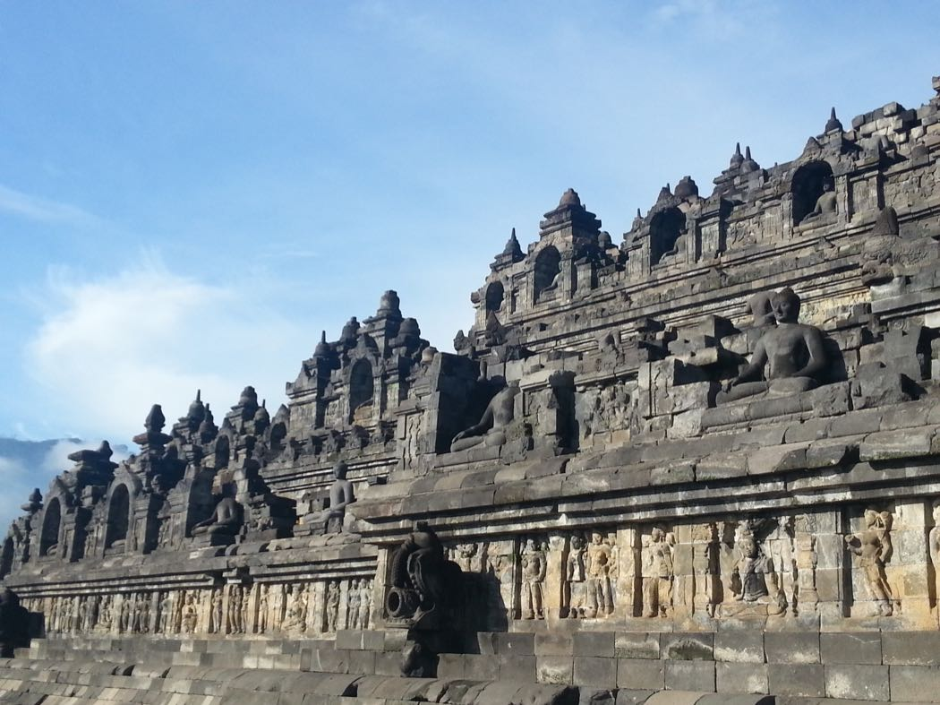 Temples & Volcanoes At Villa Borobudur In Java
