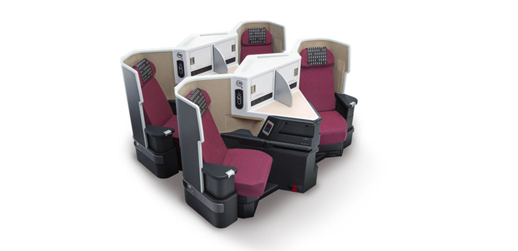 Review Of Japan Airlines B777-200ER Business Class Sky Suite