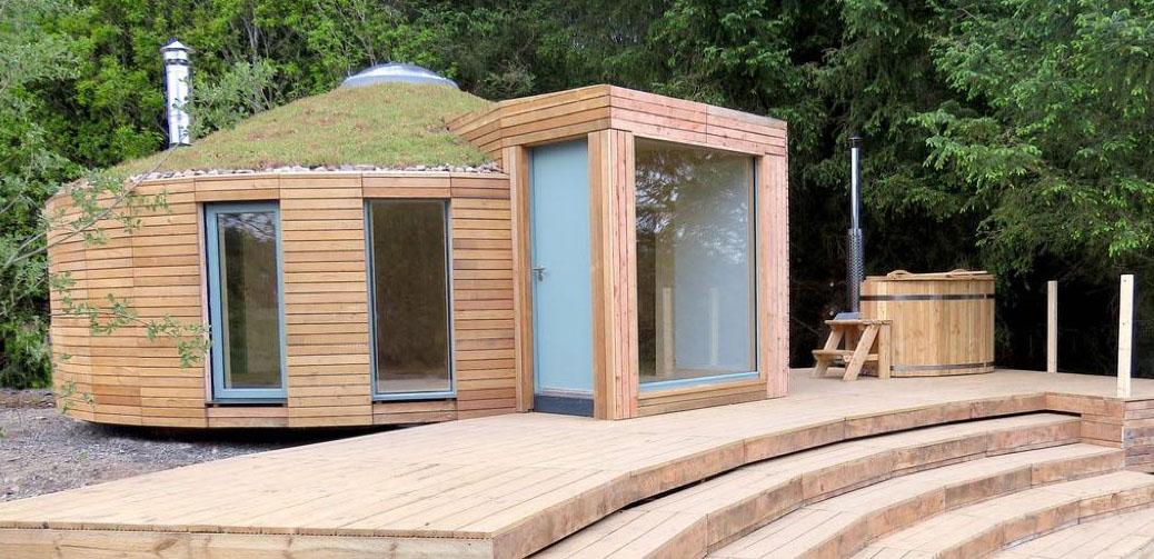Luxury Ec(h)o Yurt On The Shores Of Loch Ken, SW Scotland