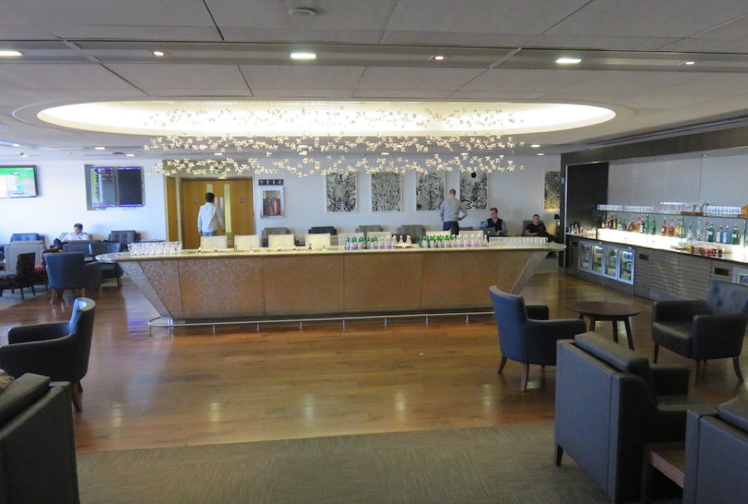 Review Of British Airways Galleries Club Lounge Terminal 3