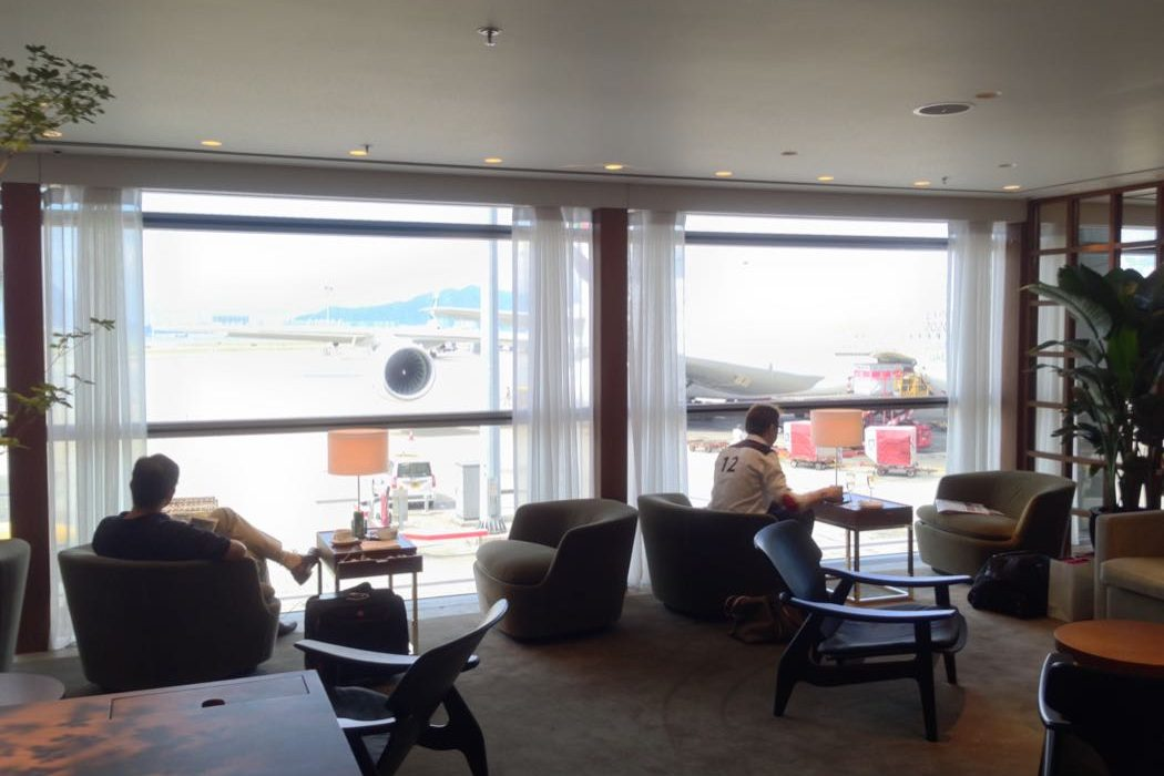 Review of The Pier Business Class Lounge Hong Kong Airport