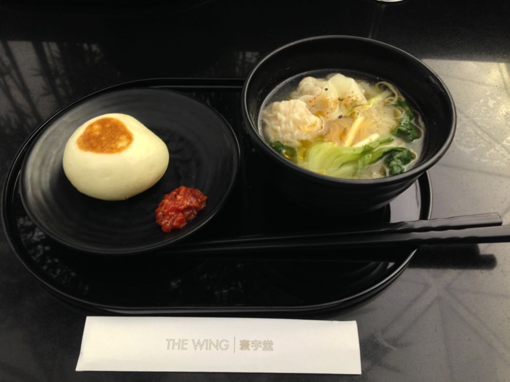 Review of The Wing Business Class Lounge, Hong Kong Airport