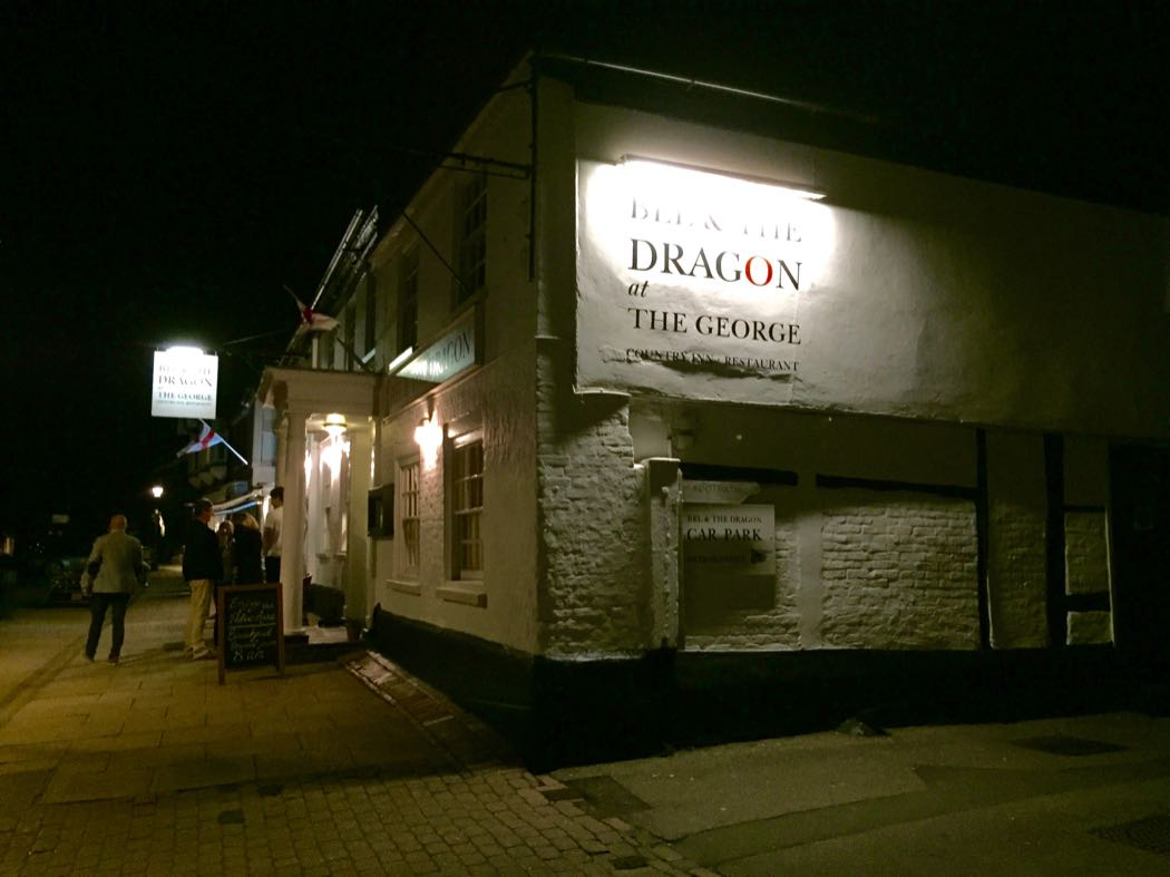 The Bel & The Dragon At The George in Odiham, Hampshire