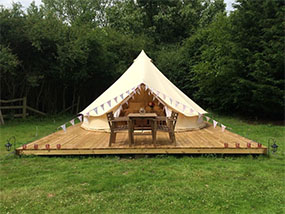 2 nights for up to 4 ppl at Longberry Farm Glamping in Kent