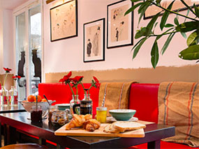 2 nights at the chic Le Chat Noir Design Hotel, Paris