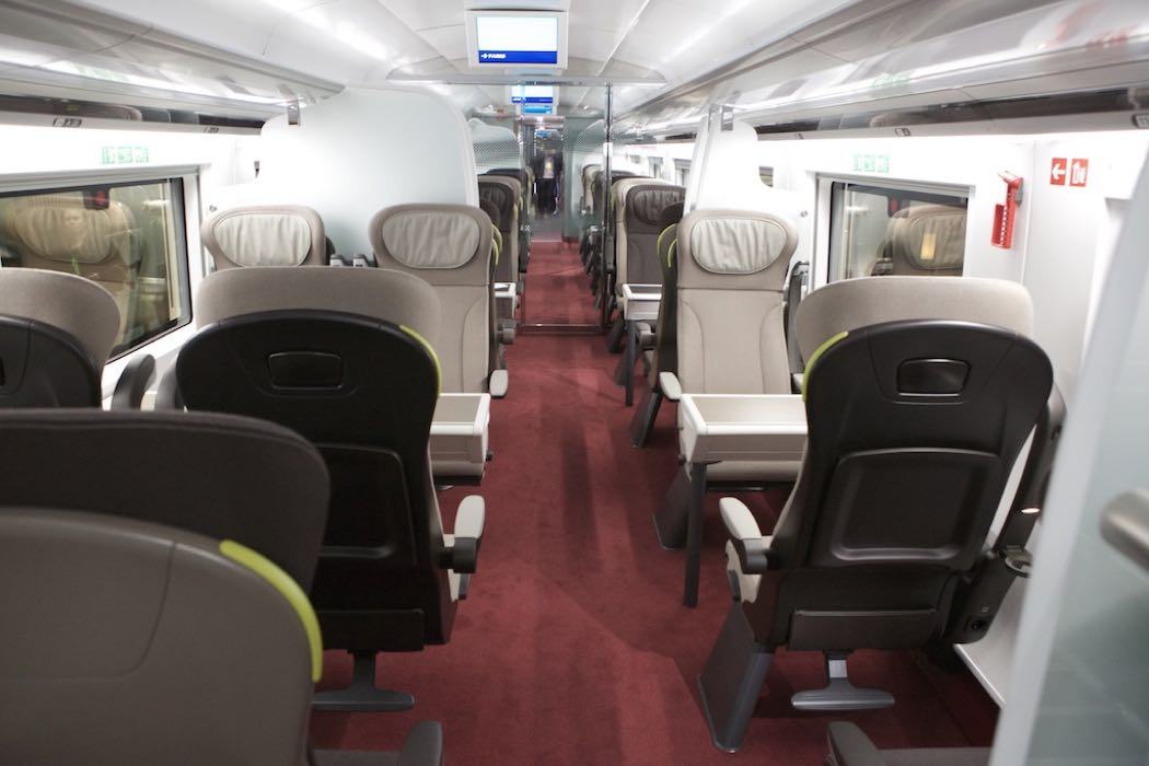 Review of Business Premier On Eurostar e320 Trains