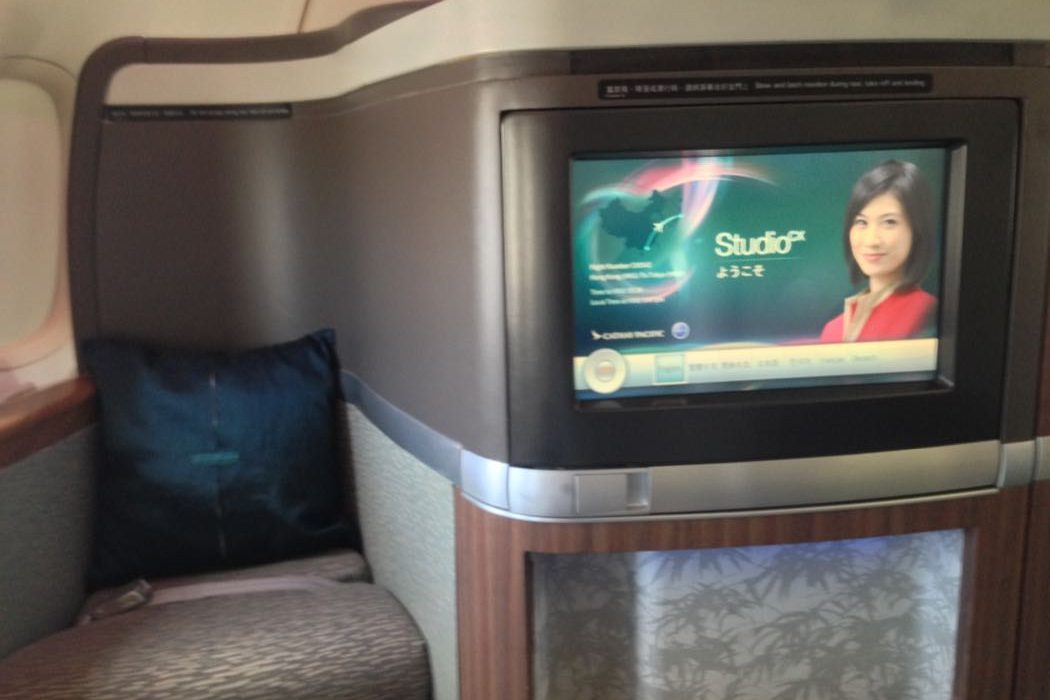 Review of Cathay Pacific First Class On Boeing 747-400