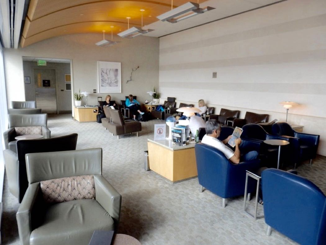 American Airlines Admirals Club And Flagship Lounge Review at LAX