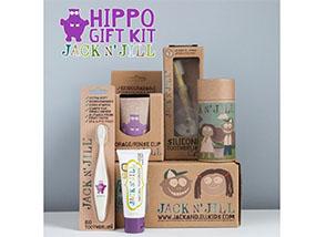 Jack N' Jill Hippo Kids Toothbrushing Gift Kit RRP£23.99