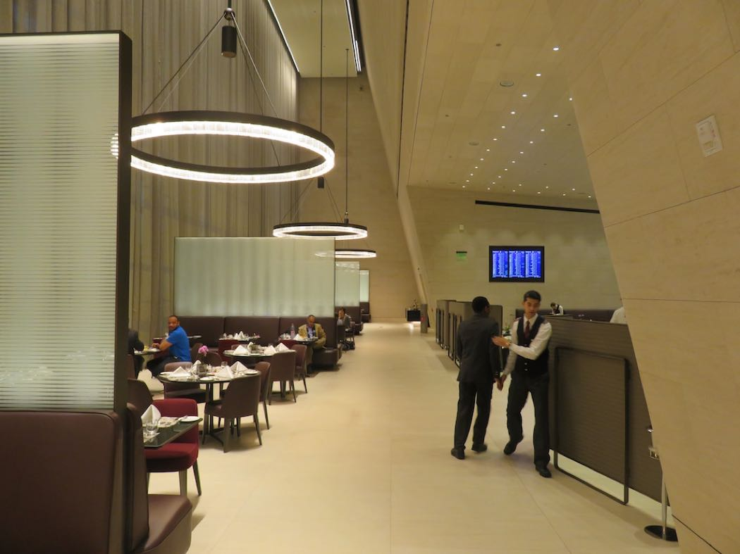 Qatar Airways' Al Safwa First Class Lounge Review Hamad Airport, Doha