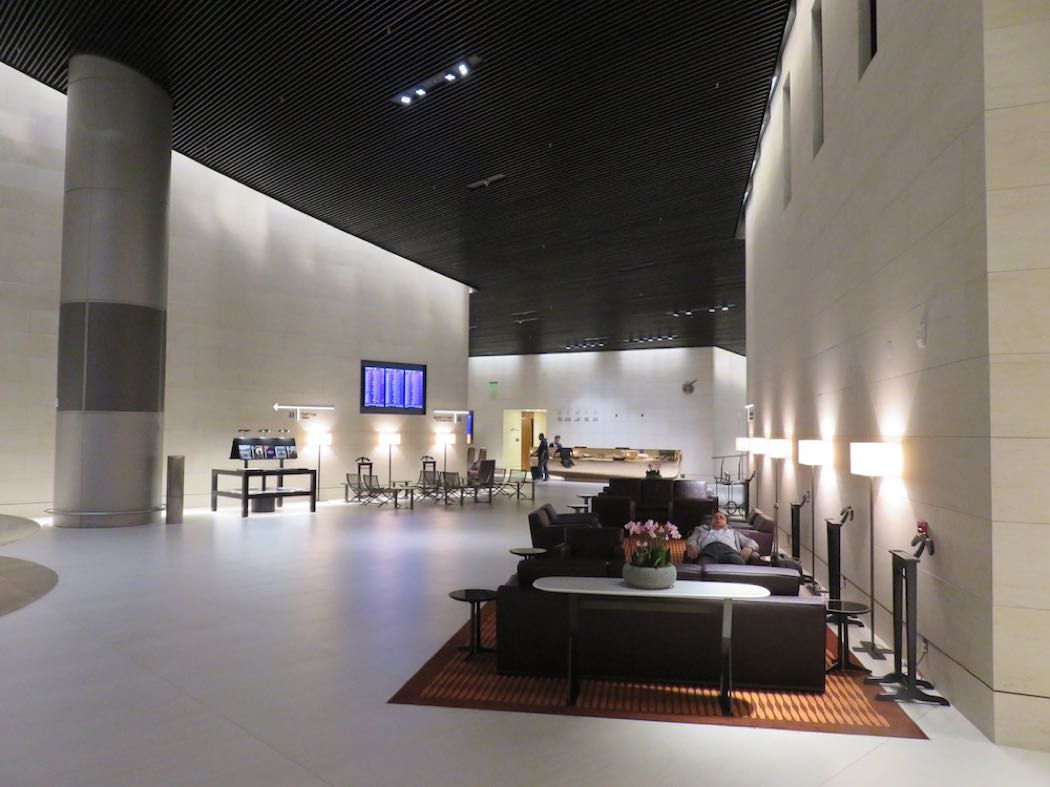 Qatar Airways' Al Safwa First Class Lounge Review Hamad