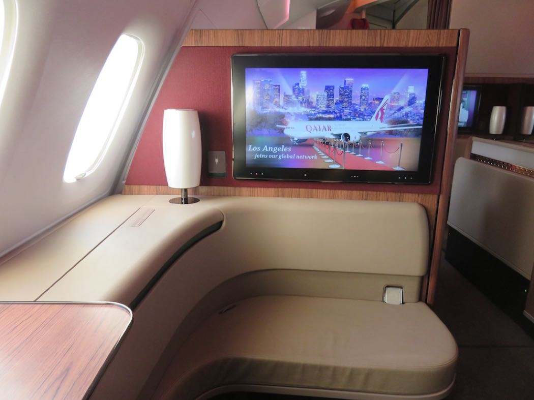 Qatar Airways First Class Review On A380 Doha to Paris