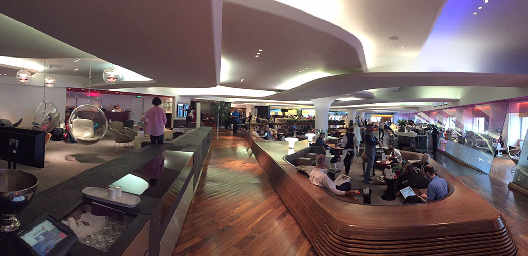 Virgin v lounge gatwick