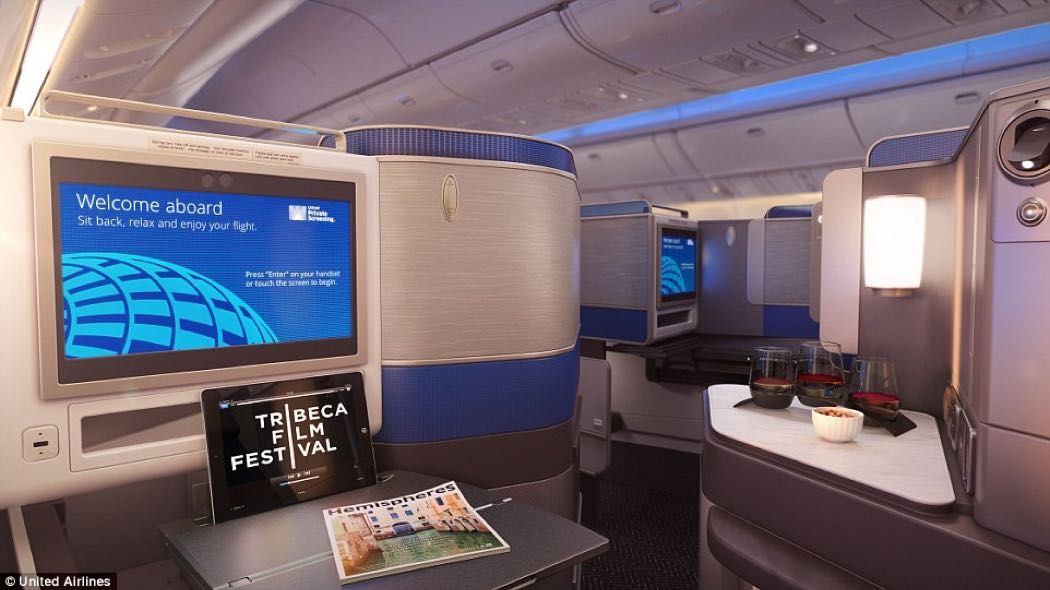 United Polaris Business Class Seat Review