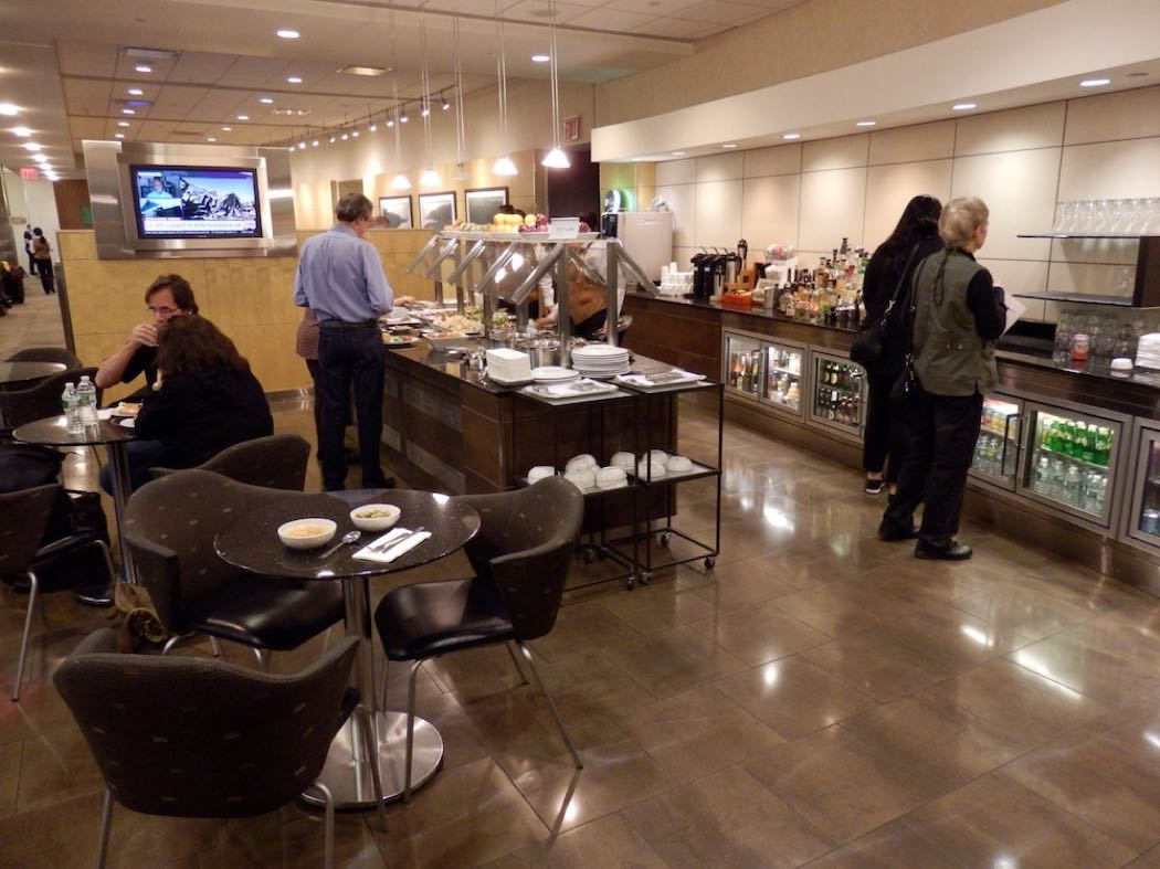 American Airlines Airport Lounge Review At JFK Airport