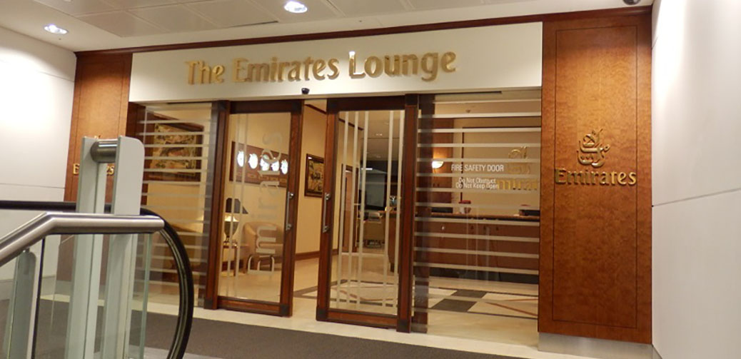 Emirates Business Class Lounge Review At Brisbane Airport ...