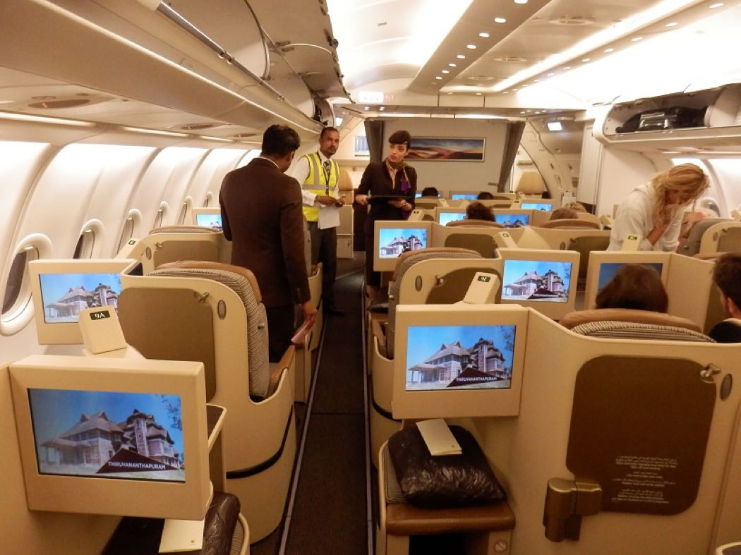Etihad A330 Business Class Review Brussels to Abu Dhabi to Maldives