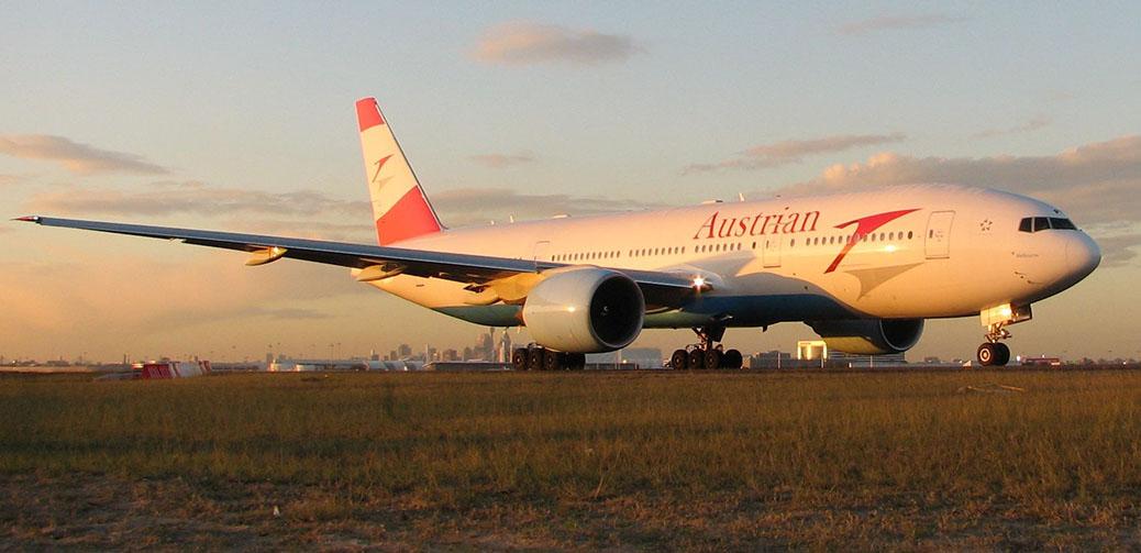 Austrian Airlines B777 Business Class Review