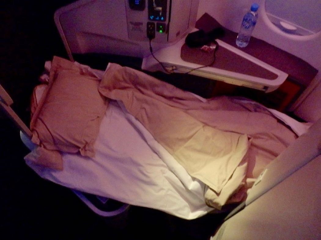 Cathay Pacific A330 Business Class Review Qatar to Hong Kong