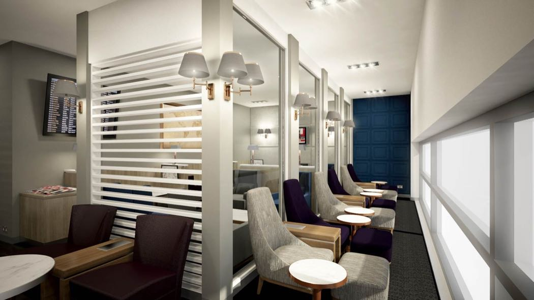 Club Aspire Lounge Review, Heathrow T3